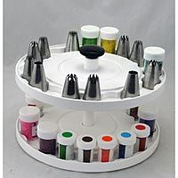 4 Tier Cake Decorating Carousel Organizer : 1000+ images about Cake decorating supplies on Pinterest ...
