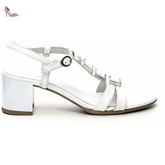 7ffd2b33f4a6f Nero Giardini Santal Vernis avec Talon P512700D-707 Diamond Bianco 36 - Chaussures  nero giardini ( Partner-Link)