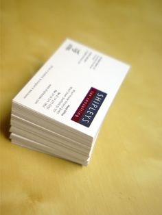 Business Card design for Tax Consultants, Shipleys Tax Consulting Business Card Design, Business Cards, Corporate Design, Visit Cards, Branding Design, Name Cards, Brand Identity Design