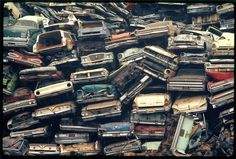 Auto dump. Escondido, California, April 1972. (Gene Daniels/National Archives/Records of the Environmental Protection Agency)