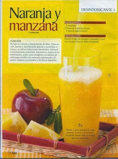 Jugos y batidos nutritivos y saludables, las mejores bebidas para desintoxicar, purificar y limpiar nuestro cuerpo.