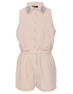 Jewel Collar Playsuit by Bardot Junior Online | THE ICONIC | Australia