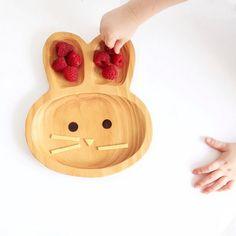 Kids Wooden Plate