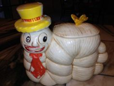 Vintage California Originals 853 Catepillar Cookie Jar RARE