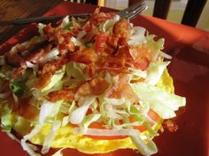 The BLT Omelet #SANE http://SANESolution.com