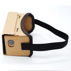 9b02ec0ebef DIY Ultra Clear Google Cardboard VR BOX 2.0 Virtual Reality 3D Glasses