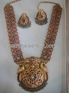 Jewellery Designs: Very Attractive Antique Long Chain
