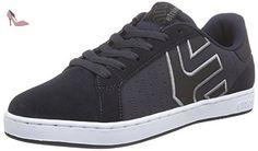 Etnies Fader, Sneakers Basses Homme, Noir (Black/White/Silver), 42.5 EU