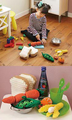Ravelry: Playing House: Soybean pattern by Pierrot (Gosyo Co., Ltd)