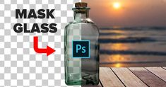 In this Photoshop tutorial, you will learn how to extract glass from a white background using blending modes. This video will teach you the best way to select and mask glass (or transparent objects) i Photoshop Tutorial, Photoshop Video, Cool Photoshop, Effects Photoshop, Advanced Photoshop, Photoshop Design, Photoshop Actions, Photoshop Website, Photoshop Mask