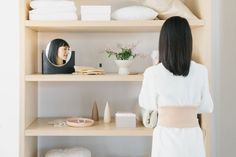 One of the core tenets of tidying guru Marie Kondo's philosophy? Every single item you own must have a home.)But as Kondo recently. Home Organization Hacks, Organizing Your Home, Organizing Tips, Marie Kondo House, Floating Nightstand, Floating Shelves, Hobbies For Women, Rc Hobbies, Home Budget