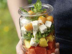 Salat im Glas: Rezept für Summer Delight