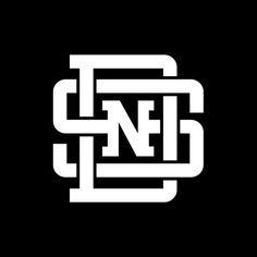 Swallows n Daggers, Lockup logo Monogram Logo, Initial Logo, Monogram Design, Letter Logo, Monogram Letters, Monogram Initials, Lettering, Typography Logo, Logo Branding