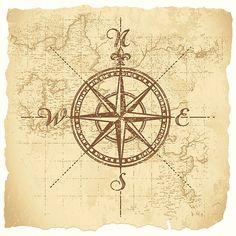 Vintage Kompass