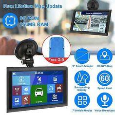 "5""/7""/9"" 8GB 256MB RAM Car Truck GPS Navigation Touch Screen Navigator+Free Map | eBay Ram Cars, Garmin Etrex, Gps Map, Free Maps, Gps Navigation, Conditioner, Usb, How To Apply, Trucks"