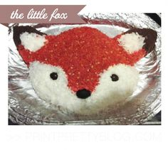Fox Birthday Cake cakepins.com