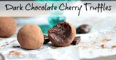 Our Dark Chocolate Cherry Truffles are made of dark chocolate ganache rolled around a delicious DOVE® Fruit. Chocolate Cherry, Chocolate Ganache, Advent Candles, Truffles, Rolls, Fruit, Dark, Ideas, Buns