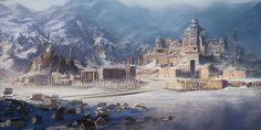 ArtStation - Ancient City, David Edwards