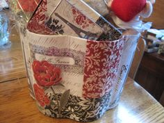 close up of Paris gift basket