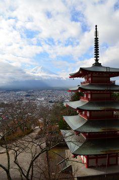 Mont Fuji 富士山, Kawaguchiko 河口, Japon 日本