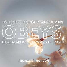 Obedience brings blessings. #Obey #Commandments