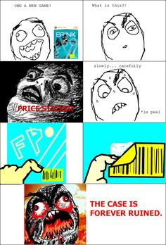 Le New Game - View more rage comics at http://leragecomics.com