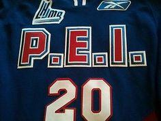 Game Worn PEI Rocket Brad Yetman Rare third jersey QMJHL CHL