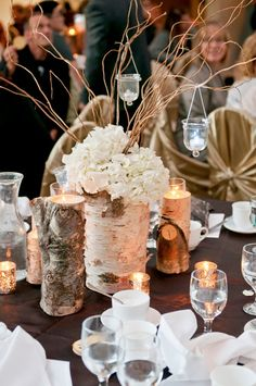 Enchanted Forest Wedding with a Touch of Magenta | bellethemagazine.com