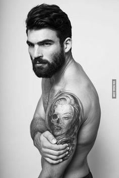 The 13th greek god....! Dimitris Alexandrou (model)
