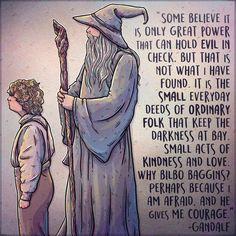 A Wizard's Words to Live By Custom Hobbit Gandalf Bilbo Tolkien Quote Illustration Giclée Print – Herzlich willkommen Gandalf Quotes, Hobbit Quotes, Tolkien Quotes, J. R. R. Tolkien, Citations Tolkien, The Words, O Hobbit, Hobbit Land, Small Acts Of Kindness