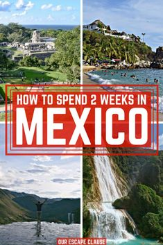Planning a Mexico trip? Check out this 2 weeks in Mexico itinerary--perfect for first time visitors to Mexico who want to see a little bit of everything, or returning visitors hoping to get beyond the beaches! #mexico #itinerary #mexicocity #chiapas #yucatan #beaches #travel #latinamerica