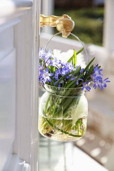 "Dear Ladies, My theme today is ""Bluebell Cottage"" with bluebells or bluebell color in whatever you like ...! Have a beautiful Sunday! Tere"