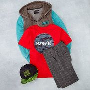 Hurley boys clothes on Zulily today!