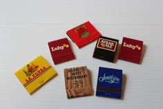 RESTAURANT SOUVENIR MATCHBOOKS, Vintage match books, Back strike matchbook,Restaurant matchbook, Texas souvenir,vintage collectible matches by TheJellyJar on Etsy