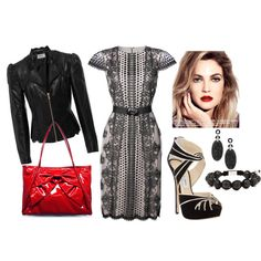 """""""Retro with an edge"""" by calivalee on Polyvore"""