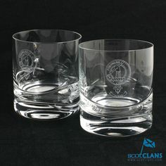 Balfour Clan Crest Whisky Glasses