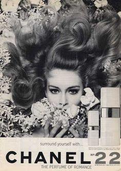 CHANEL N22 60's AD シャネル60年代広告 | Vintage Paris