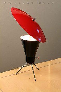 Mid Century Atomic Lamp!