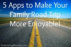 5 iOS Driving Apps for your Family Road Trip