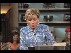 """▶ Beth Moore """"He's Not That Into You"""" (LIFE Today / James Robison) - YouTube"""