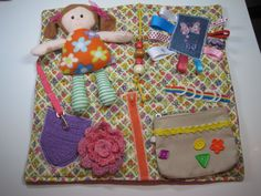 Fidget Quilt for Dementia, Alzheimer's and others. by TotallySewn on Etsy