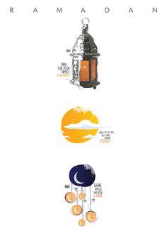 ramadan illustration art on Behance