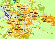 Map of Enschede.