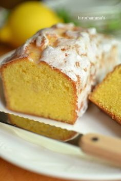 塩レモンパウンドケーキ