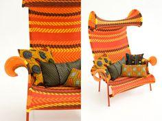 fauteuil africain | Afro, Exotique, Ethnique … des Fauteuils Déco » Blog Terre ...
