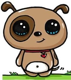 Dogs drawing kawaii 56 ideas for 2019 Chibi Kawaii, Kawaii Doodles, Kawaii Art, Cute Animal Drawings Kawaii, Cute Easy Drawings, Disney Kawaii, Disney Drawings, Cartoon Drawings, Kawaii Stickers