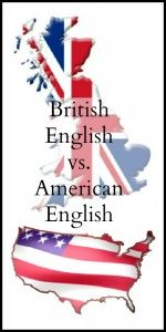 British English vs. American English #homeschool #languagearts  #english