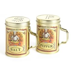 4.39Italian Salt & Pepper Set