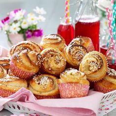 Bagan, Coffee Bread, Apple Chips, Sweet Bakery, Swedish Recipes, Piece Of Cakes, Cinnamon Rolls, Mini Cupcakes, Fall Recipes