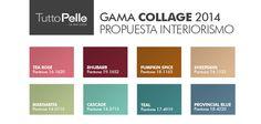 #Pantone #Color #2014 #Interiorismo #Moda #Collage #Palette